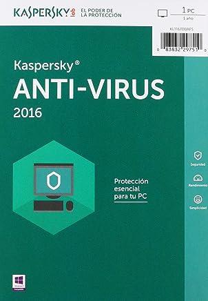 Kaspersky Antivirus 2016, 1 Usuario
