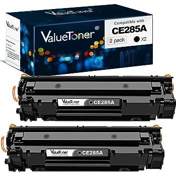 1 Black NineLeaf Compatible Toner Cartridge Replacement for HP 85A CE285A Laserjet Pro P1102w P1109w M1212nf M1217nfw M1219nf MFP Laser Printer
