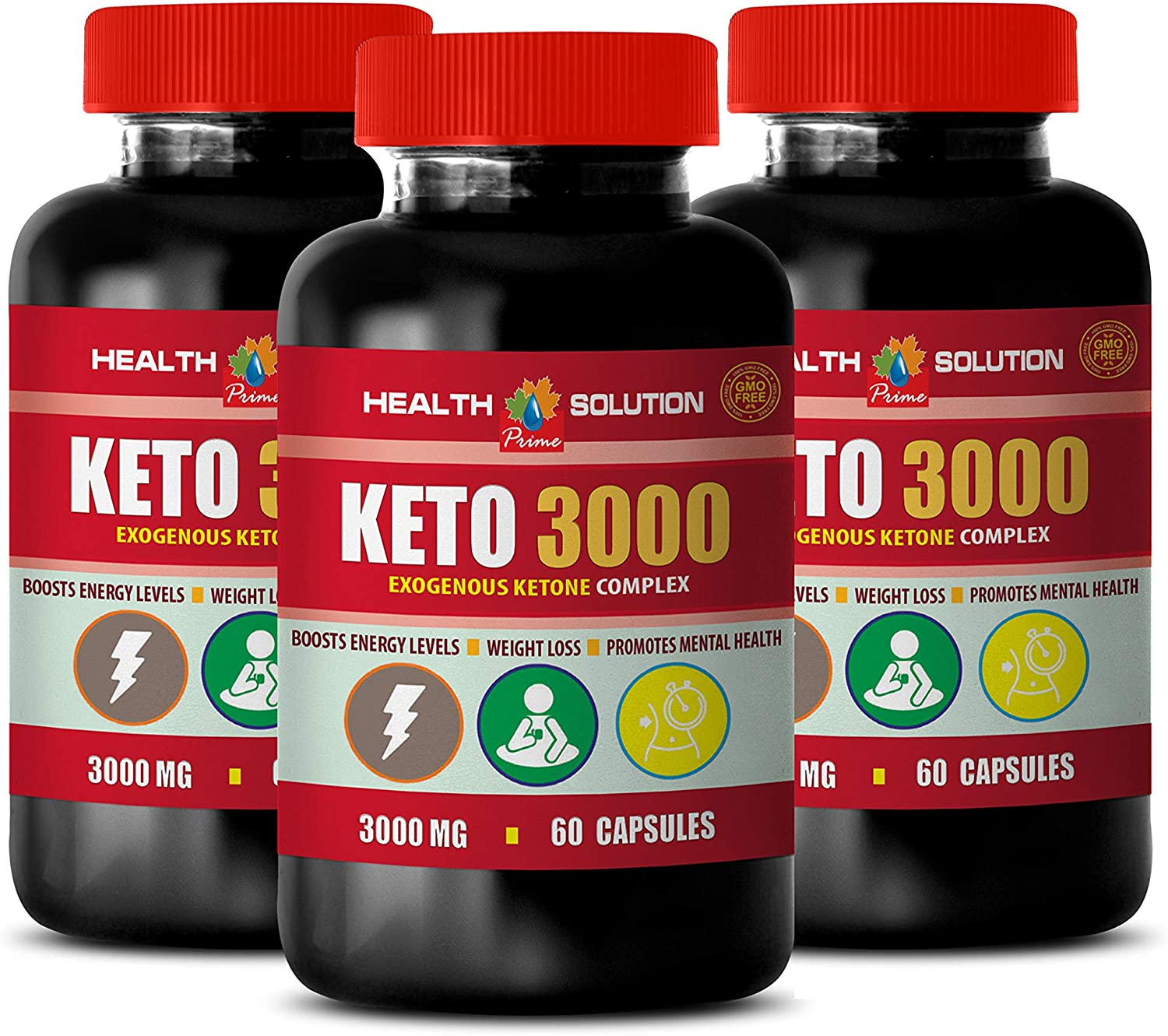 Today's only Energy Fat Burner Pills for Women Ket MG 3000 excellence EXOGENOUS Keto -