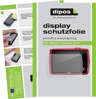 dipos I 6X Schutzfolie matt kompatibel mit Nikon Coolpix S 01 Folie Displayschutzfolie
