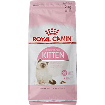 Royal Canin Second Age Kitten 4kg Amazon Co Uk Pet Supplies