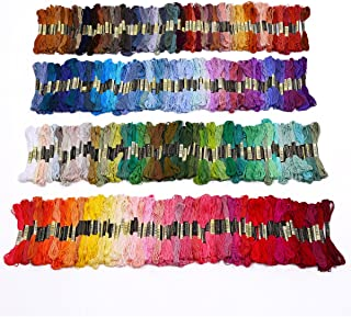 Lot 50-300 Multi Colors Cross Stitch Cotton Embroidery Thread Floss Sewing Skeins (300 pcs)