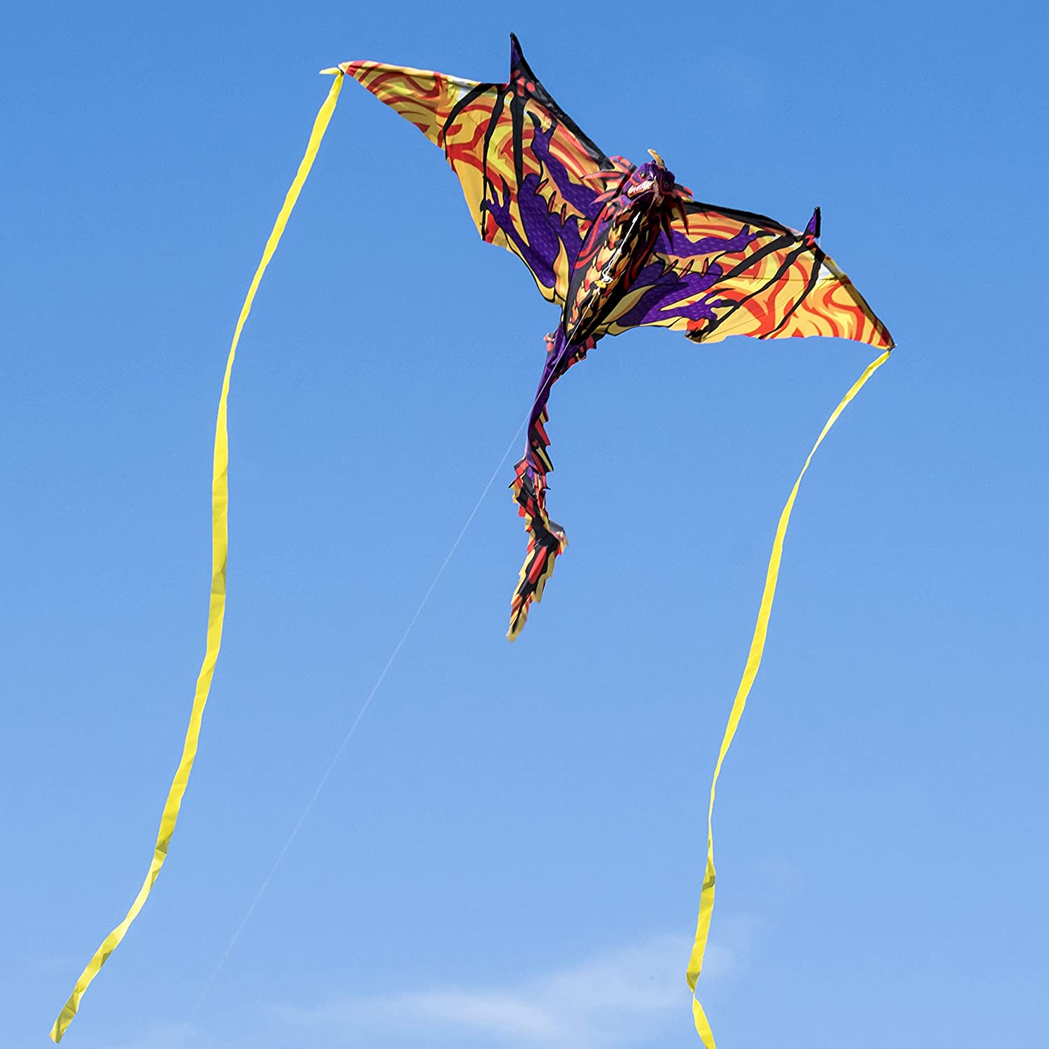 24. 3D Dragon Kite with Kite String for Kids and Adults