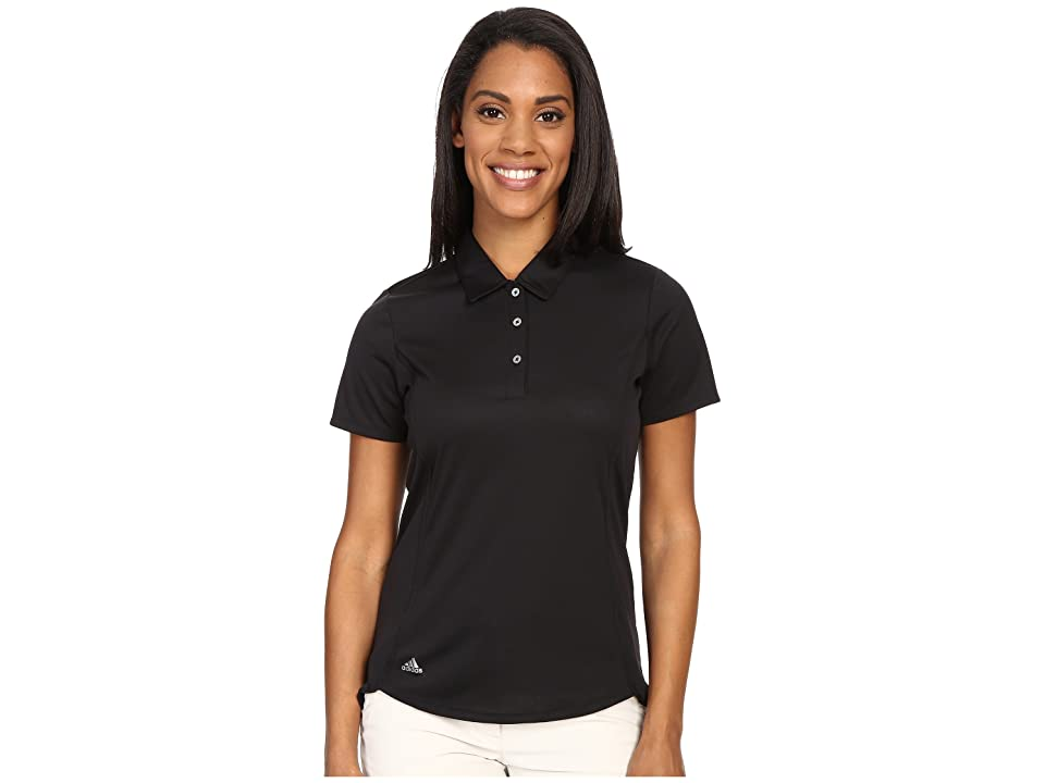 adidas Golf Essentials climachill Sport Polo (Black/Black) Women