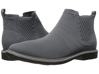 Mark Nason Tamar (Charcoal Dressknit/Charcoal Pin/Gray Welt/Black Bottom) Men
