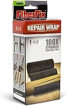 "FiberFix Repair Wrap - Permanent Waterproof Repair Tape 100x Stronger than Duct Tape 4"" (1 Roll)"
