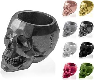 CONCRETTE Flower Pot, Steel, Ø 11-21x15x15 cm