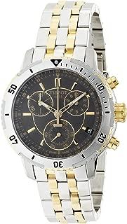 Tissot Men's T0674172205100 PRS 200 Grey Chronograph Dial Two Tone Watch