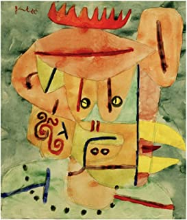 Music Poster Paul Klee - Mask LAPUL 1939 Print 60x80cm