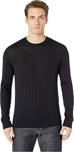 Dropstitch Crew Sweater