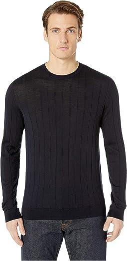 Dropstitch Crew Sweater