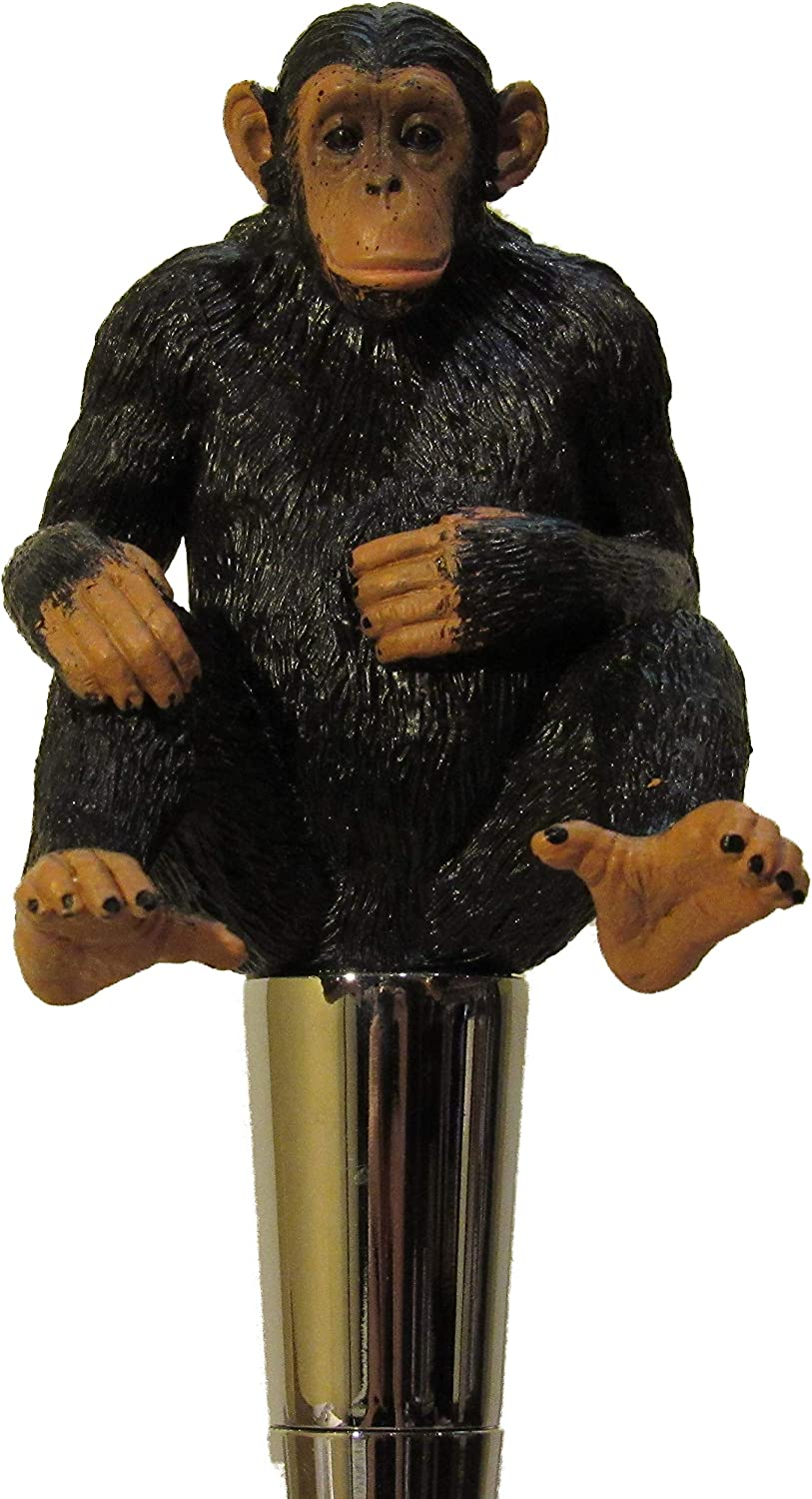 KoolCollectibles Chimpanzee Weekly update Beer Tap Handle Bar Today's only Sports Kegerator
