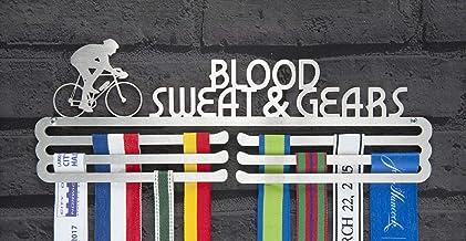 Runners Wall fietsen medaille weergeven