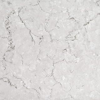 Floor Tiles Self Adhesive Vinyl Flooring Kitchen Bathroom Marble Effect White