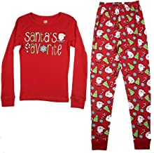 Best girls santa pajamas Reviews