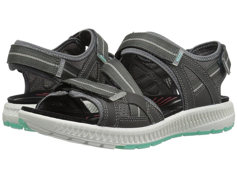 ECCO Sport Terra 3S Sandal (Dark Shadow/Emerald) Women
