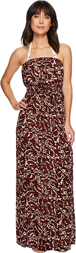 Green Dragon - Bateeki Iman Maxi Dress