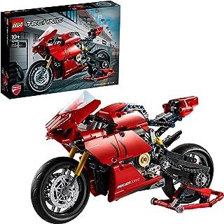 LEGO 42107 Technic DucatiPanigaleV4R, Modèle d'affichage Superbike à Collectionner
