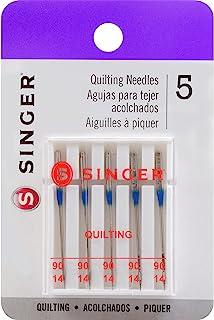 SINGER Machine Quilting Needles, Size 90, 90/14