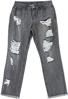 Women's 30X28 Distressed Boyfriend Jeans