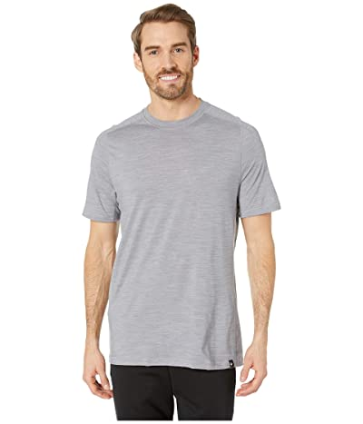 Smartwool Merino Sport 150 Tech Tee (Light Gray Heather) Men