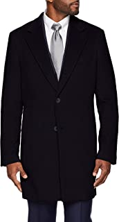 Amazon Brand - BUTTONED DOWN Men's Italian Wool Cashmere Overcoat
