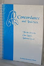 CONCORDANCES AND INDEXES - To the Priests, Our Lady's Beloved Sons - The Marian Movement of Priests