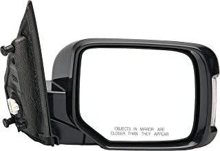 Dorman 955-1723 Passenger Side Power Door Mirror - Heated / Folding with Signal and Memory for Select Honda Models, Black