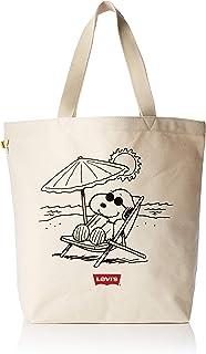778b1b1428 Levi's sac levis 230045 peanuts snoopy beach tote beige