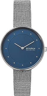 Skagen Women's Gitte Quartz Stainless Steel Watch,Color: Silver, 14 (Model: SKW2809)