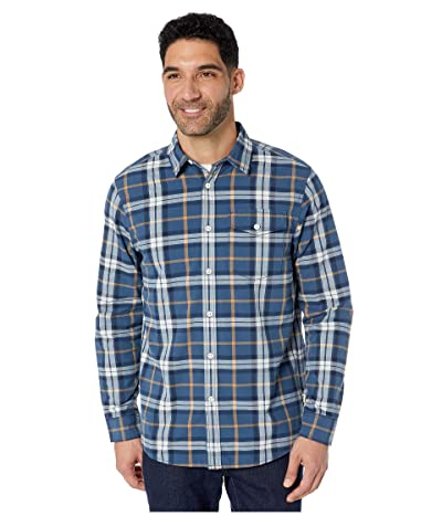 The North Face Long Sleeve Stayside Chamois Shirt (Shady Blue Leavin Plaid) Men