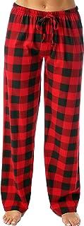 Women Buffalo Plaid Pajama Pants Sleepwear