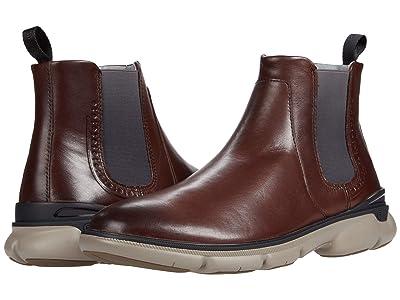 Johnston & Murphy Tanner Chelsea (Mahogany Full Grain Leather) Men