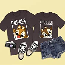 Chip 'n' Dale Shirt, Double Shirt, Double Trouble, Disney Couple Shirt, Animal Kingdom, Disney Family Shirts, Chip n Dale, Chip and Dale Tee