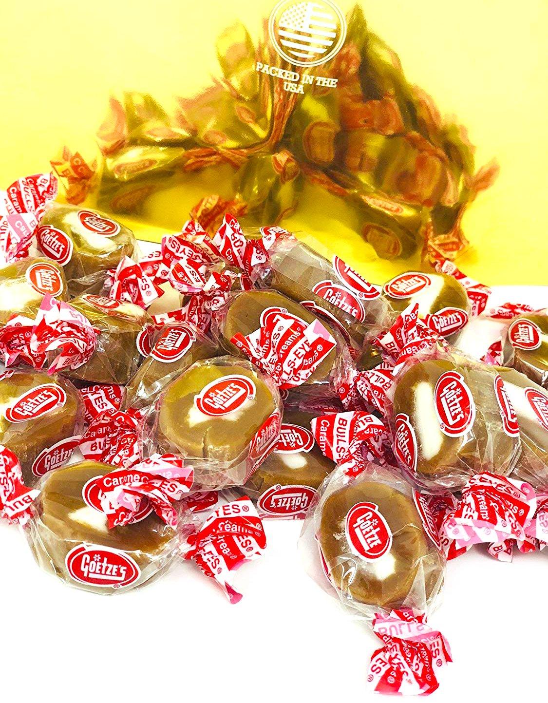 Goetze's Original Vanilla Inventory cleanup selling sale Caramel Creams - Candy 4Lb Retro Ranking TOP12