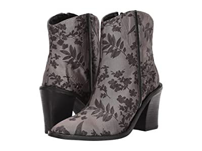 Free People Barclay Brocade Ankle Boot (Black Combo) Women