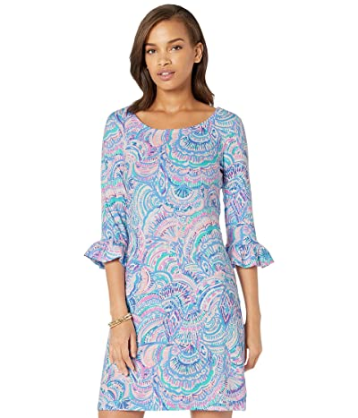 Lilly Pulitzer UPF 50+ Sophie Ruffle Dress (Multi Happy As A Clam) Women