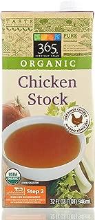 365 organic chicken broth