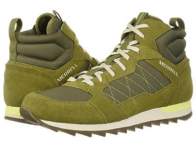 Merrell Alpine Sneaker Mid (Olive) Men