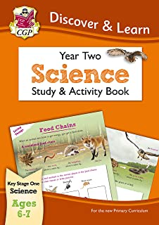 KS1 Discover & Learn: Science - Study & Activity Book, Year 2