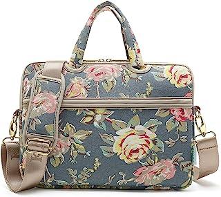 KAYOND Blue Water Hyacinth Patten water resistant Laptop Shoulder Messenger Bag Case Sleeve for 12 Inch 13 Inch Laptop,Laptop Briefcase