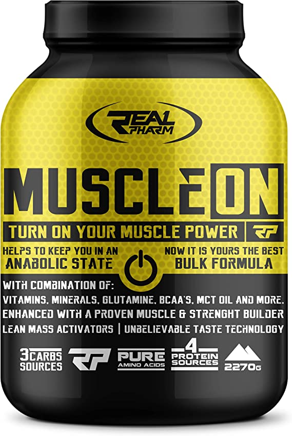 Real Pharm Muscle ON Weight Gainer Bulk - Masilla (2270 g ...