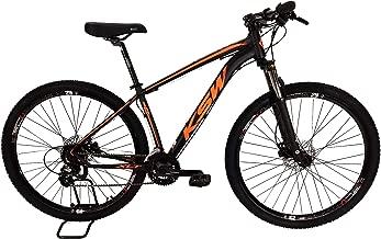 Bicicleta MTB Alum 29 KSW Shimano 24 Vel Freio Disco Hidrá