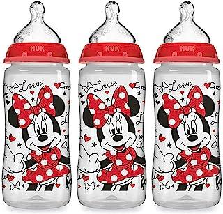 NUK Disney Baby Bottle, Minnie Mouse, 10oz 3pk