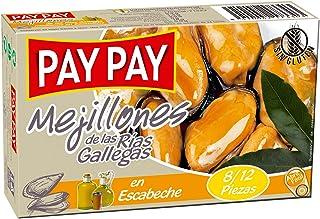 Pay Pay Mejillones De Las Rías Gallegas en Escabeche - 115 g