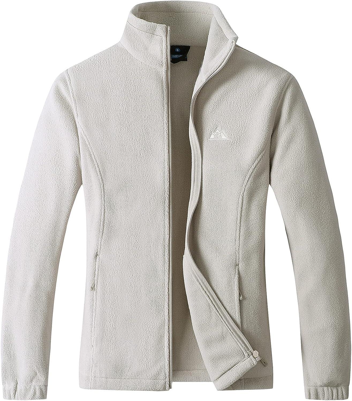 Women's Max 47% OFF Lightweight Sale SALE% OFF Full Zip Soft Polar Outdoor Fleece Re Jacket