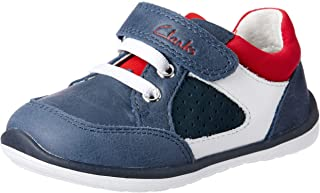 Clarks Boys' Maxxie Trainers, Navy