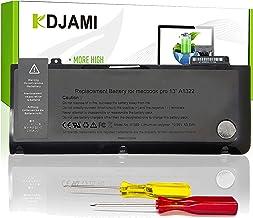 """KDJAMI A1278 A1322 Batería para Apple MacBook Pro 13"""" (2009 2010 2011 2012 Ver) MD101LL/A MD313LL/A MC700 MC700LL/A MD102L..."""