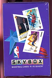 1991-92 1992 Skybox basketball Wax Pack Box Card Set Michael Jordan Series 1 One