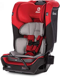 Diono 2020 Radian 3QX Latch, All-in-One Convertible Car Seat, Red Cherry